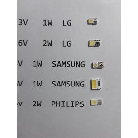 Pack X100 Leds Surtidos Tv Backlight Lg Sam Philips Etc