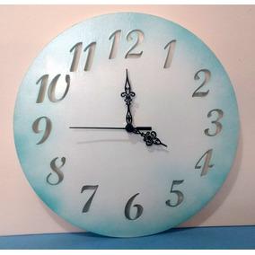 079eb049723 Kit Relogio De Parede Para Pintar - Relógios no Mercado Livre Brasil