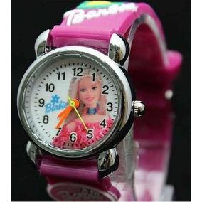 Relógio Infantil Analógico Barbie Batman Vingadores Promoção