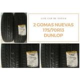 2 Gomas Totalmente Nuevas Aro 13 La Mejor Marca Dunlop