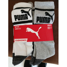 Puma Calcetines Hombre Crew Socks (paqute De 6) Regalo Lente