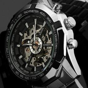 Relógio Importado Masculino Winner Corda Barato Frete Grátis
