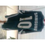 Camisa Do Palmeiras adidas 2009/2010 Verde Nº 10 Usada