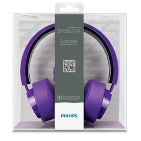 Headset Philips Shibuya Citiscape Roxo - Original