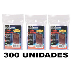 300 Sleeves Protetor P/ Cartas Ultra Pro Pokemon E Magic