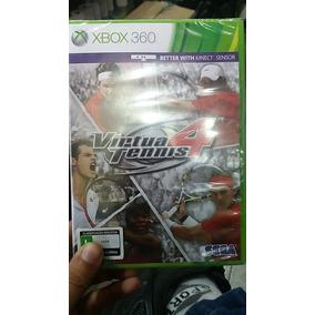 Jogo Xbox 360 Virtua Tennis 4 - Original - Novo - Lacrado