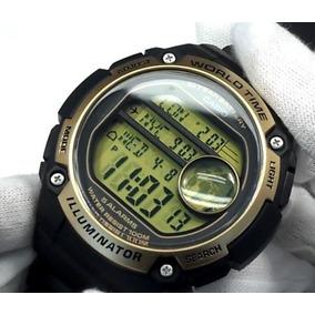 3fa2c8a09b9 Relogio Casio World Time Illuminator - Relojes Pulsera en Mercado ...