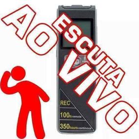 Equipamento Para Gravação De Audio Aparelhos Espionagem Be3
