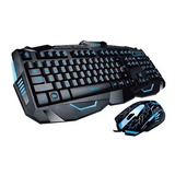 Kit Teclado + Mouse Noganet Stormer It 2 Retroiluminado