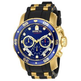Invicta Hombre 6983 Pro Diver Reloj Cronógrafo 18k Oro 48mm