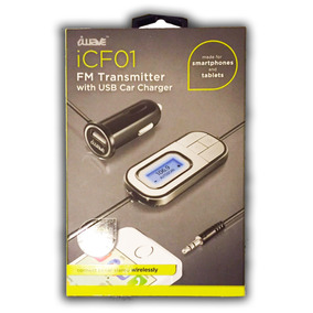 Transmisor / Cargador Fm Para Carro Iwave Icf01 (3.5)