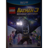Batman 3 Beyond Gotham Wiiu Fisico