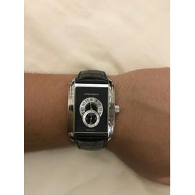 35ae983b2a9 Relogio Emporio Armani Chronomaster Titanium - Relógios De Pulso ...
