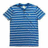 Camisa Henley Abercrombie Masculina 100% Original - Tam P P1 a30de50f940eb