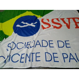 Bandeira Ssvp Sociedade De São Vicente De Paulo 1x1,45m