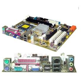 Kit Placa Mae 775 + Processador Core 2 Duo E8400 3.0ghz