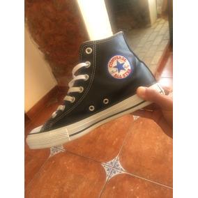 Zapatillas Converse Negras De Cuero
