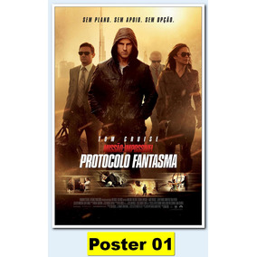 Poster Cartaz 30x40 - Missão Impossível - Protocolo F