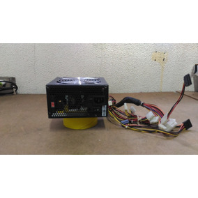 Fonte Real 420 Watts Seventeam Modelo St-420bkv-03f - Usada