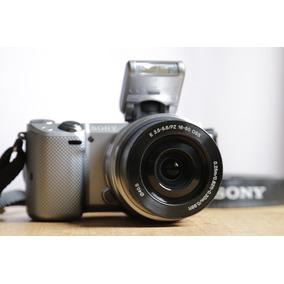 Câmera Mirrorless Sony Alpha Nex-5t Full Hd 60p