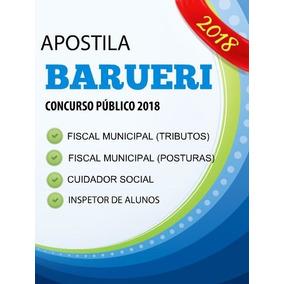 Apostila Concurso Barueri 2018