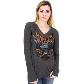 Camisa Camiseta Raglan Manga Longa Philadelphia Eagles Nfl. São Paulo ·  Harley Davidson Blusa Feminina Manga Longa Faded Eagle 6bac1468cf5