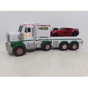 Caminhão Plataforma Hess Brinquedo ! 33 Cm Som E Luzes !
