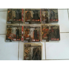 Coleção Action Figure Spawn Mcfarlane Movie Maniacs V - 7pcs