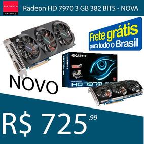 Placa De Video Radeon Hd 7970 Gigabyte Nova E Com Garantia