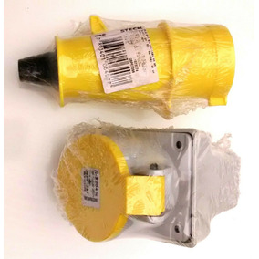 Kit 04 Pares Plug+tomada 32a 2p+t
