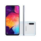 Smartphone Samsung Galaxy A50 64gb Branco 4g - 4gb Ram 6,4