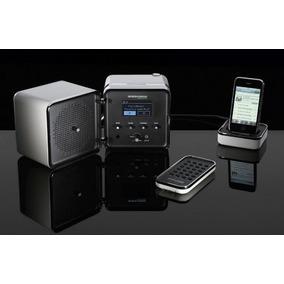Brionvega Radiocubo It Caixa De Som Com Rádio Bluetooth
