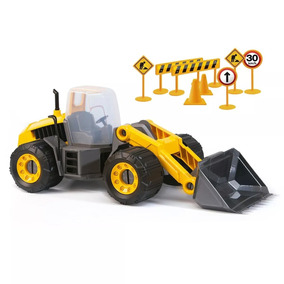Trator Infantil Construction Machine Sx 130 Usual Brinquedos