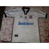 Camisa Corinthians Campeão Brasileiro 1999 Número 9 (luizão)