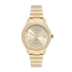 8121b60b5d94c Relogio Technos Skydrive Dourado Feminino - Relógios De Pulso no ...