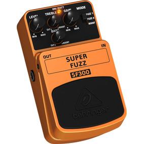 Pedal Sf300 Super Fuzz - Behringer + Nf + Garantia