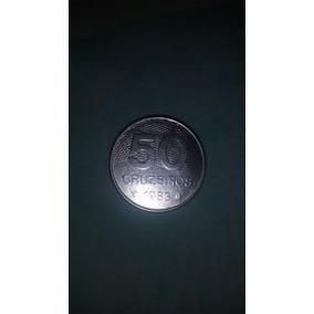 Moeda De 50 Cruzeiros, Do Ano De 1983