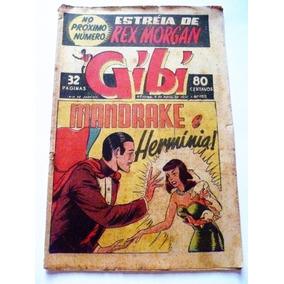 Gibi Nº1715 Mandrake Abril 1950 Rge