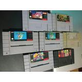 Juegos De Super Nintendo Snes