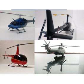 Maquetes De Helicópteros Personalizadas 30 Cm