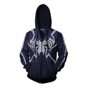 Sudadera Capucha Veneno/araña Hombre Impresa En 3d Env O 10