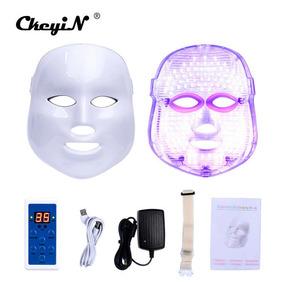 Mascara Facial De Led 7 Cores Estetica Facial Beleza E Saúde