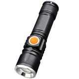 Kit 2 Lanterna Profissional Tatica Led T6 De 880000w Usb