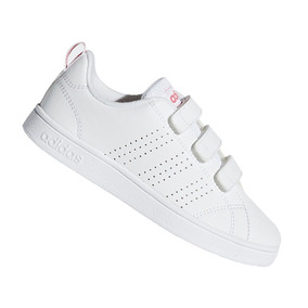 66d5f2fb783 Tênis Infantil adidas Advantag Branco Menina Original