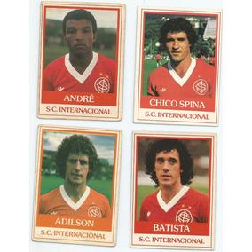 4 Futebol Cards Do Internacional