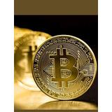 Bitcoin Fisico Conmemorativo Moneda Coleccion Coleccionable