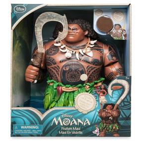 Boneco Maui Moana Musical Singing Doll Original Disney Store