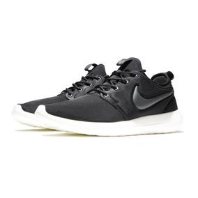 reputable site c7301 c83c5 Zapatillas Nike Roshe Run Two Negro Blanco Original 2018