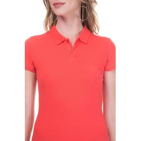Camiseta Feminina Gola Polo - Cores Diversas    promoção d437fccc8b8f8