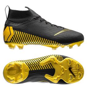 f24bea4990 Chuteira Nike Campo Mercurial - Chuteiras Adultos Campo Nike Dourado ...